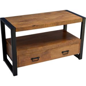 Mooie tv meubel mango hout, verkrijgbaar in de winkel en webshop.